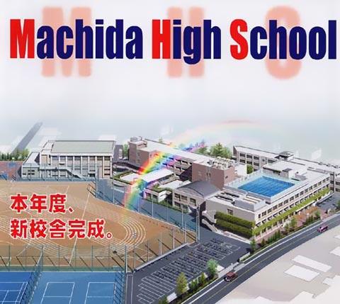 新校舎完成予想図