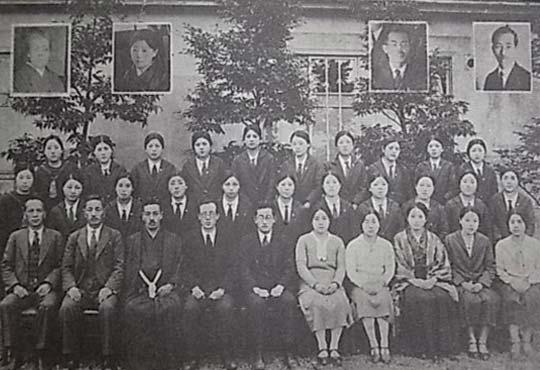 町田高等女学校第1回卒業生